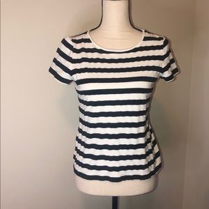 Talbots stripped tee